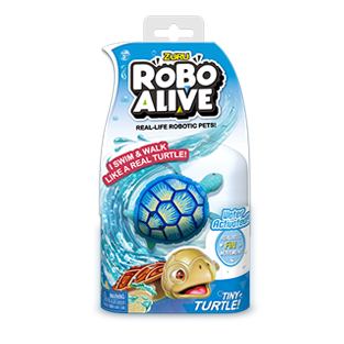 ROBO ALIVE REAL-LIFE FISH_BULK PACK_Blue Sea Turtle
