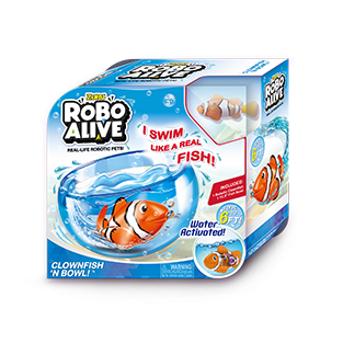 ROBO ALIVE REAL-LIFE FISH_PLAYSET