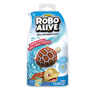 ROBO ALIVE REAL-LIFE FISH_BULK PACK_Red Wood Turtle
